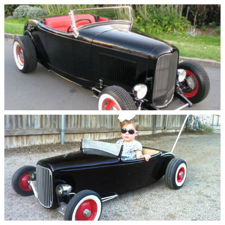 Big vs Small. The top pic was my inspiration for the Hot Rod Stroller. 32 FordBaby BuggyPedal CarsBang ... & 17 best Hadleeu0027s Tot Rod images on Pinterest | Pedal cars Hot ... markmcfarlin.com