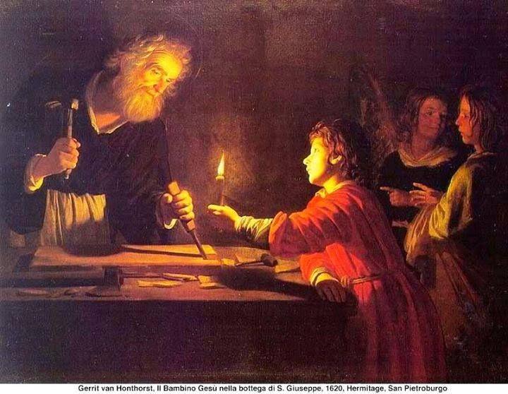 IO e un po' di briciole di Vangelo: (Mt 13,54-58) Non è costui il figlio del falegname...