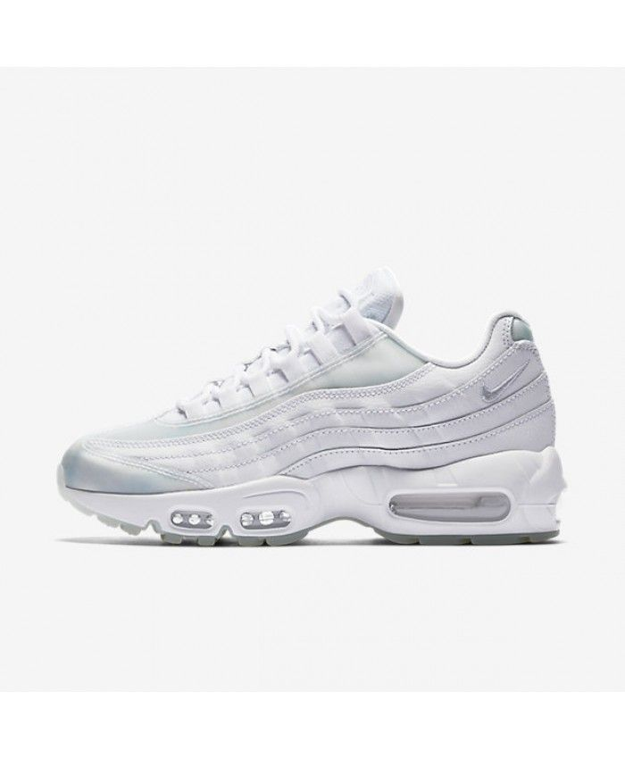 d81fd0e166 Nike Air Max 95 Womens Se White Ice Pure Platinum Shoes Outlet ...