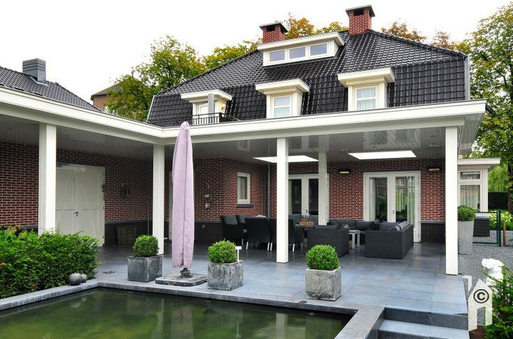 Meer dan 1000 idee n over veranda aanbouw op pinterest veranda 39 s kamer toevoegingen en four - Veranda modern huis ...
