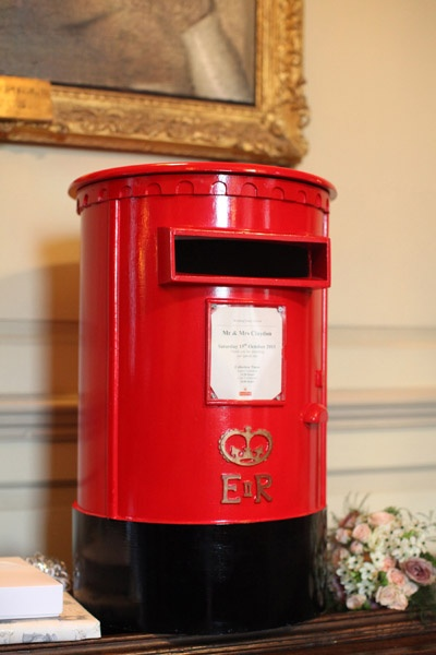 Lovely Wedding Touches | Venue Touches - Wedding Post Box