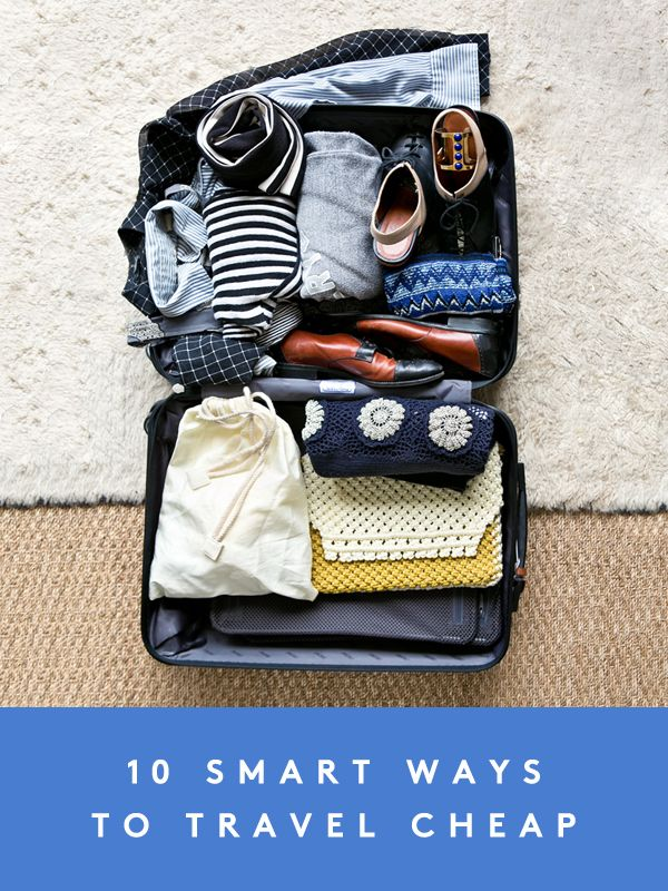 10 smart ways to save money while traveling