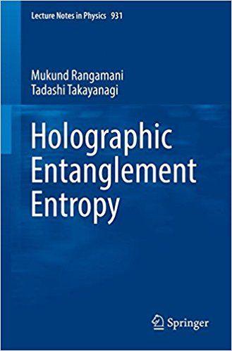 Resultado de imagen de holographic entanglement entropy