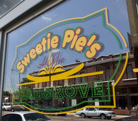 "Sweetie pies restaurant in st louis. You can watch them on TV too ""Welcome to Sweetie Pie's"" on OWN."