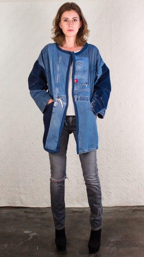 Sarah's Jacket, #silkdenim