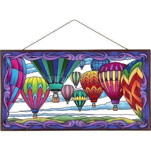 Hot Air Balloons Art Panel