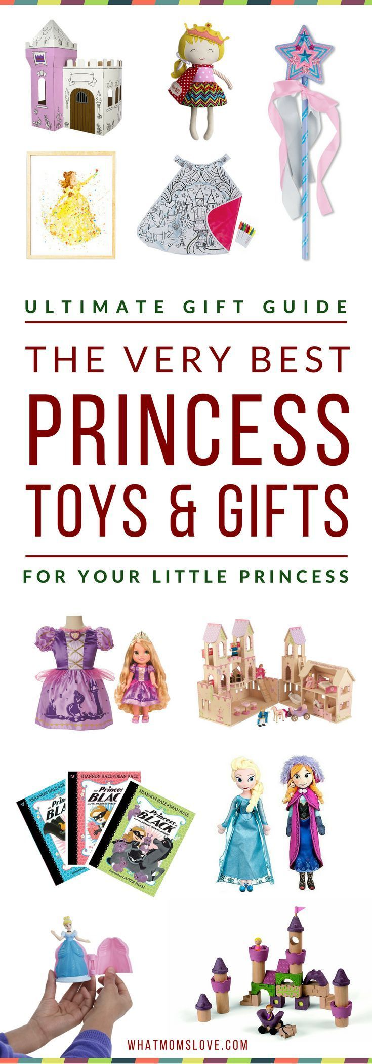 Best Princess Toys & Gifts for Girls | Gift Guide For Toddlers to Tweens | Gift Ideas For Disney Princess Lovers | Best Toys For 4 Year Old Girls | Best Gifts For 5 Year Old Girls & up | Click to access the top picks, or pin for later | from What Moms Love