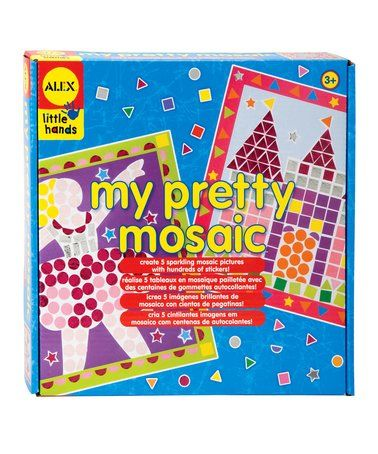 Another great find on #zulily! My Pretty Mosaic Kit by little hands #zulilyfinds