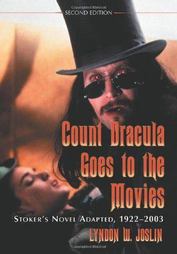 Count Dracula Goes to the Movies: Stokers Novel Adapted 1922-2003 @ niftywarehouse.com #NiftyWarehouse #Dracula #Vampires #ClassicHorrorMovies #Horror #Movies #Halloween #Vampire