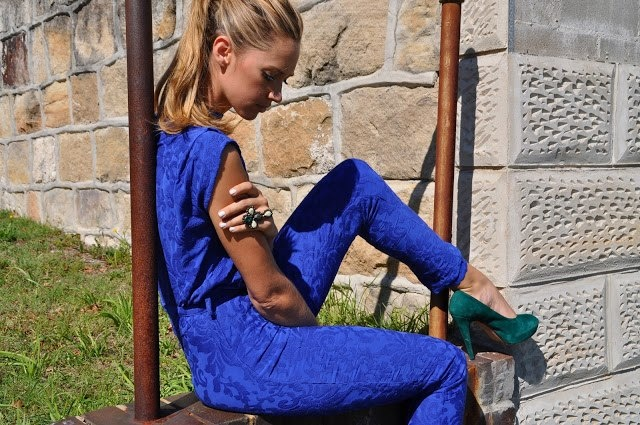 Nikki Phillips making a statement in this MAURIE & EVE 'Perception' Jumpsuit, available now at THE ICONIC.