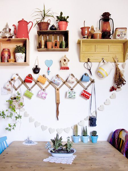 Casa Chaucha » Repisas Me gusta el perchero para las tazas