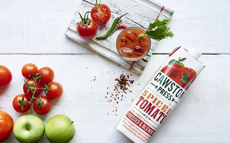 Cawston Press adds spicy tomato flavour to existing juice range
