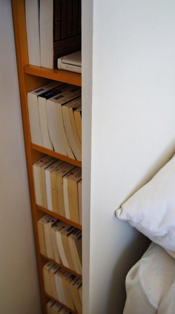 Tête de lit blanche DIY rangement intégré - Bidouilles IKEA