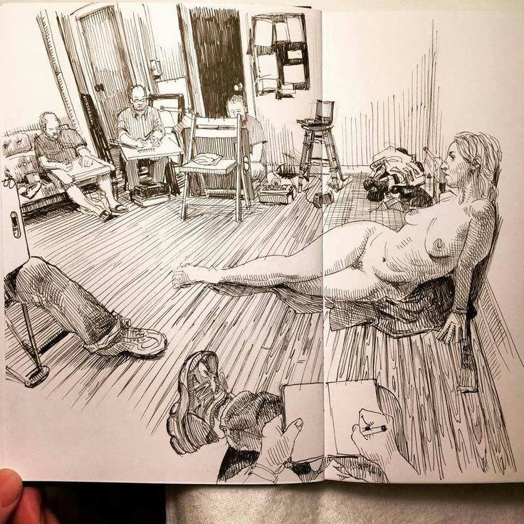 Paul Heaston - life drawing