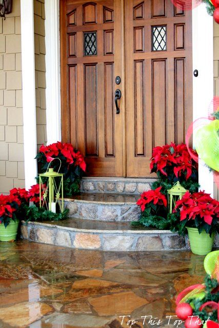 Front Entrance Decor for the Holidays :: Hometalk