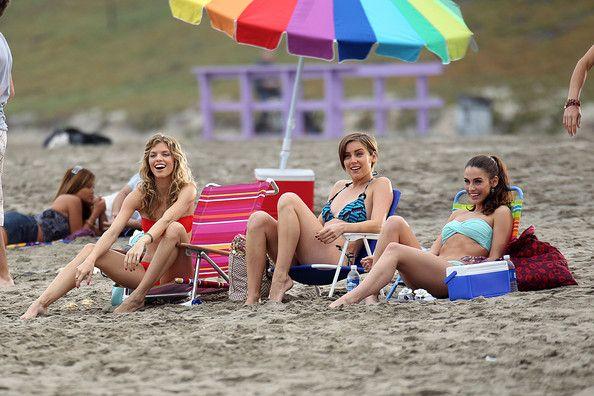 "Jessica Lowndes - AnnaLynne McCord Films ""90210"""