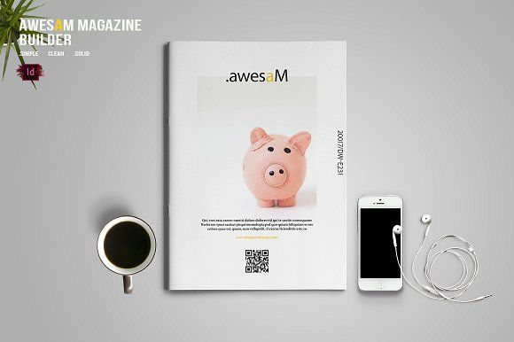 awesaM Magazine Builder by BizzCreatives on @creativemarket