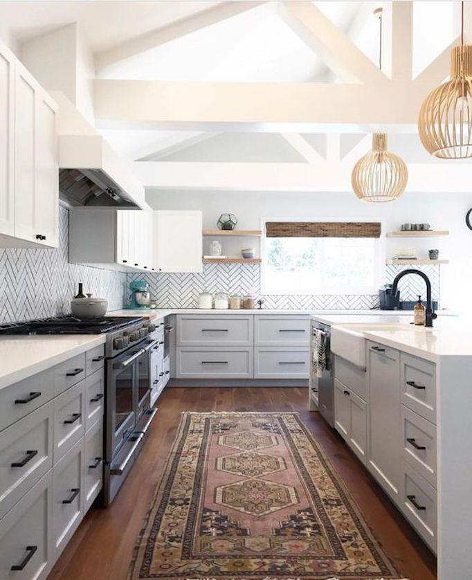 Key Elements Of Modern Farmhouse Kitchens Little House Of Could Modern Farmhouse Kitchens Home Decor Kitchen Farmhouse Kitchen Design