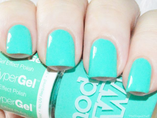 Manicure Monday | Models Own - Turquoise Gloss