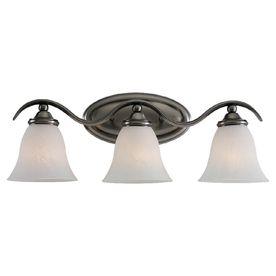Sea Gull Lighting 3-Light Rialto Antique Brushed Nickel Bathroom Vanity Light bathroom remodel?
