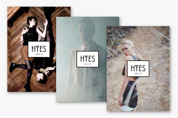 HYES studio - Identity on Behance