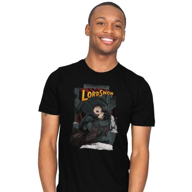 DEATH OF LORD SNOW T-Shirt - Game of Thrones T-Shirt is $20 at Ript!