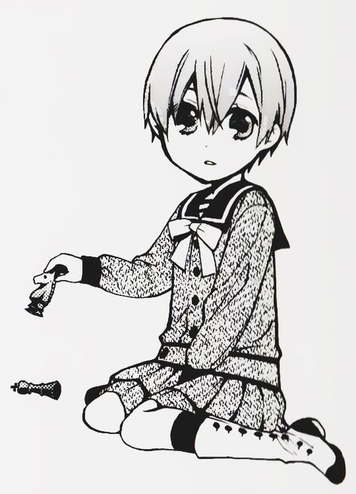 This is the face of the pure shota.