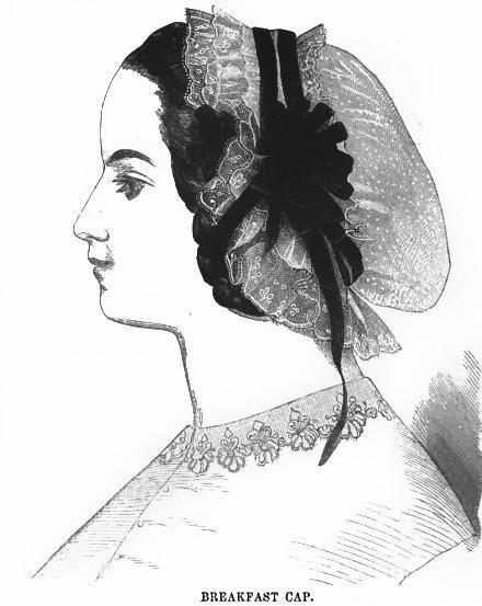 Ladies Of The 1860s   cap 1863