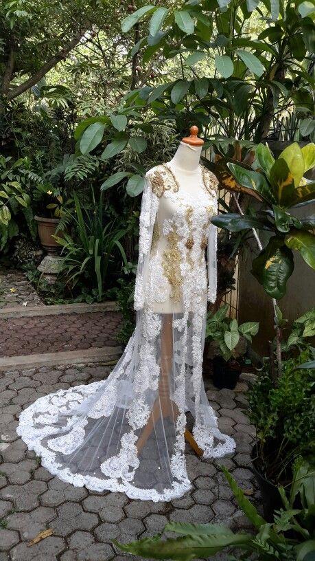 Wedding#kebaya#lace#tulle#by ChairaniToscalini#ctoscalini@gmail.com