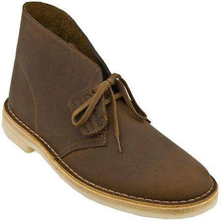 Desert boots: if they can handle the desert, they can handle anything