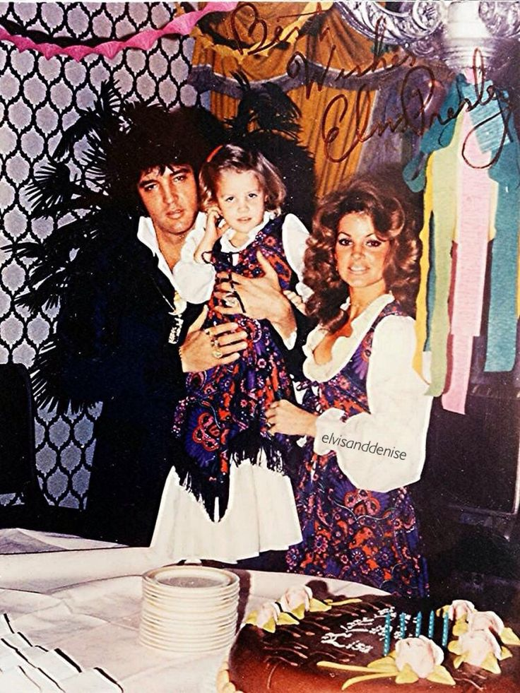 Lisa Marie's 5th birthday in Las Vegas February 1,... - Elvis never left