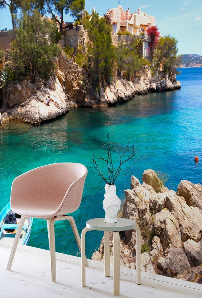 Majorca Wall Mural by PIXERS Nature Inspired Eye Deceiving Wall Murals to Make Your Home Look Bigger