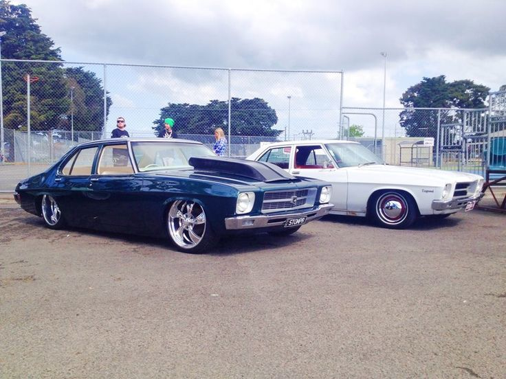Holden Hq Sedans Stompr And Stomp Jnr Airbagged Slammed Sleeper