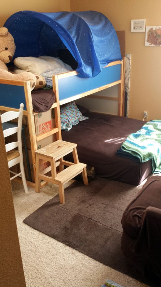 double on bottom bunk bed ikea