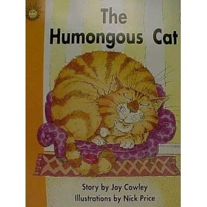 The Humongous Cat to teach punctuation, fluency, and synonyms.