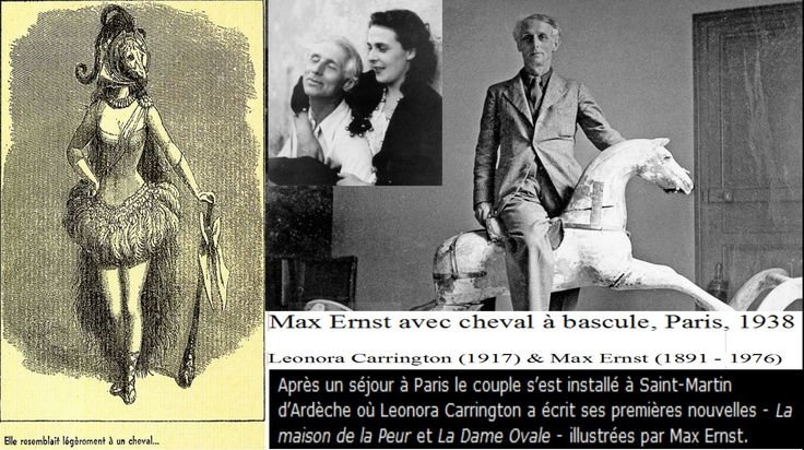 #MAXERNST et #LEONORACARRINGTON #MAXERNST et #LEONORACARRINGTON #MAXERNST fonde avec #JeanArp le groupe Dada de Cologne. En 1921 il rencontre Paul et #Gala #PAULEluard.En 1923, de retour à Paris, il expose au Salon des indépendants.En 1925, Max Ernst invente le frottage
