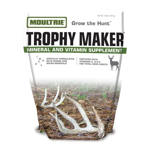 Moultrie Trophy Maker 4 lb. Mineral and Vitamin Supplement - Game Feed And Supplements at Academy Sports
