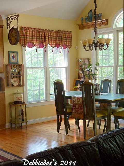 242 best french country kitchen and dining areas images on for Country kitchen dining room ideas