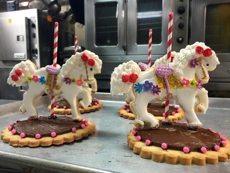 Carousel horses by Ronald Hokanson