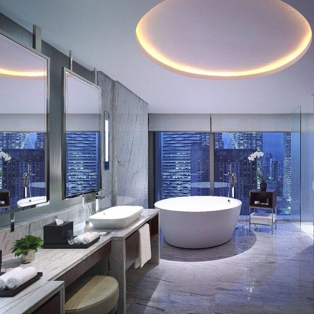 An inside look of the Grand Suite at @grandhyatt Kuala Lumpur. Photo courtesy of @buildingworksau.