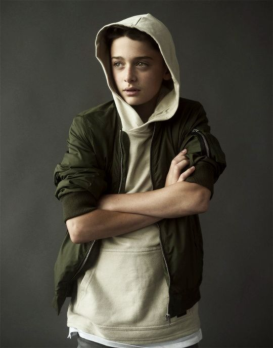 Noah Schnapp for Disorder Magazine.