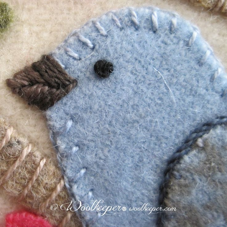 Season Of Awakenings Wool Applique Pinterest Wool