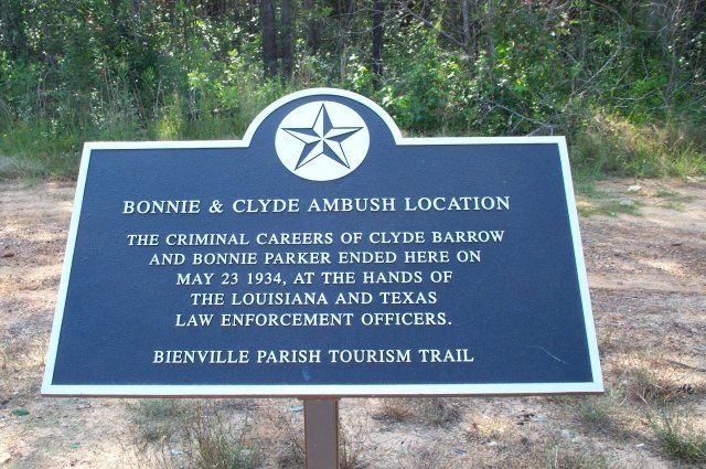 Bonnie and Clyde Ambush | Guide to the History of Dallas, Texas: In Search of Bonnie and Clyde