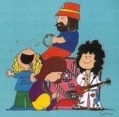 Led Zeppelin. Peanuts Style                                                                                                                                                      More