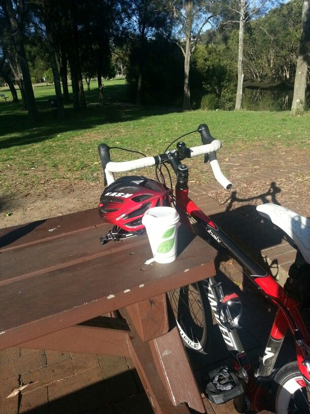 Pre-work ride with a quick coffee stop