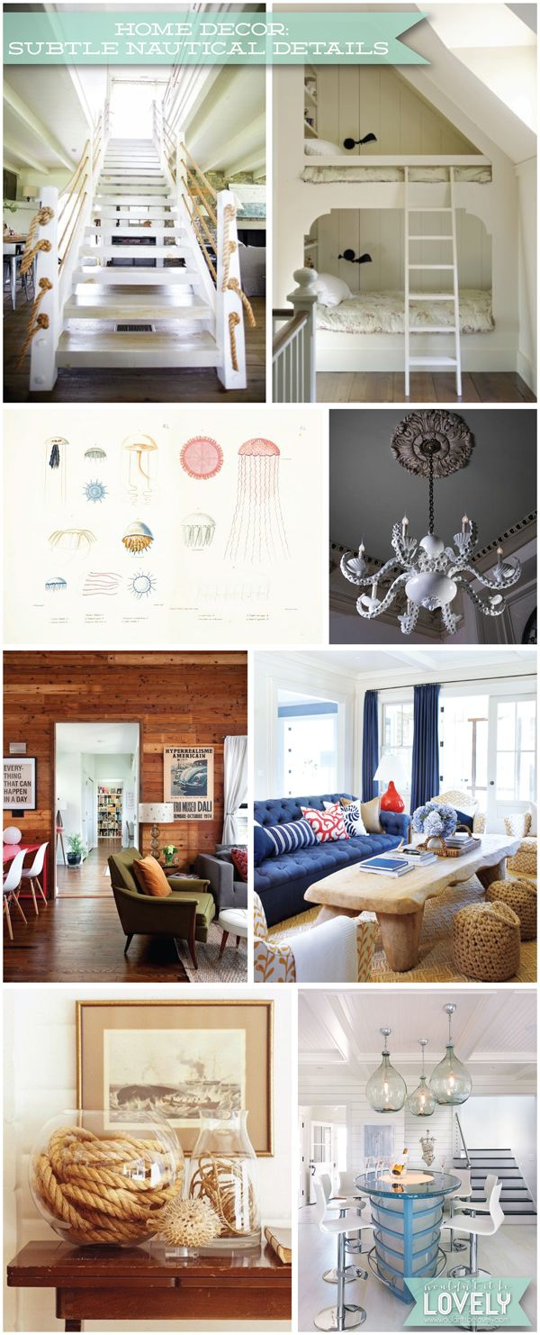 160 best nautical home decor images on Pinterest Architecture