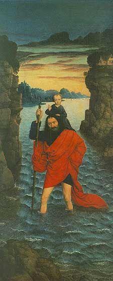 Saint Christopher the Patron  The patron saint of travelers