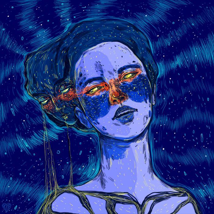 Raw, Emotional Illustrations by Livia Falcaru   ILLUSTRATION AGE