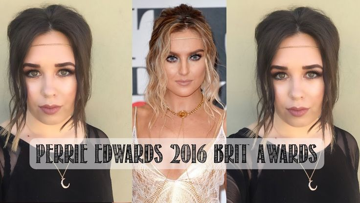 Perrie Edwards Red Carpet Hair and Makeup from the 2016 BRIT Awards!  #littlemix #perrieedwards