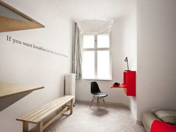 Pop Up Hotel Room U0027quotelu0027 For Visitors Of Poznan International Fair (poland)  By Architects Mode:lina